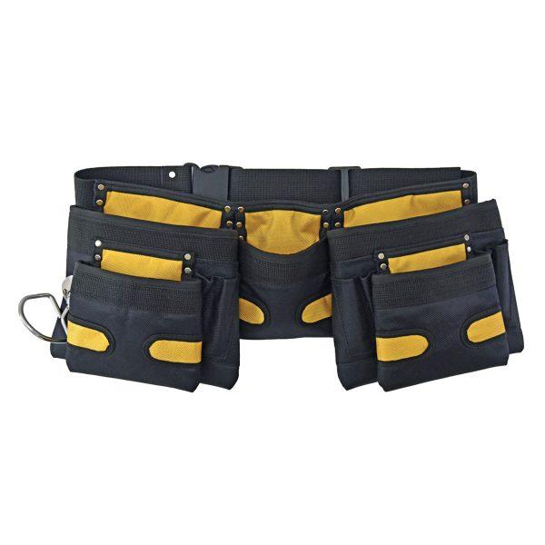 10 Pocket Nylon Pouch with Belt