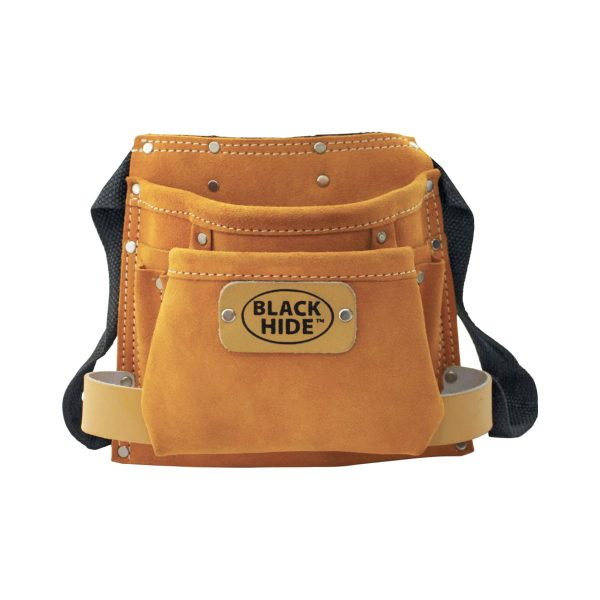 5 Pocket Split Leather Single Tool Pouch