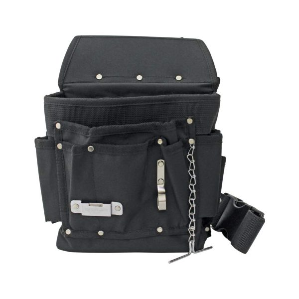 Electricians Nylon Tool Pouch with Handle & Belt