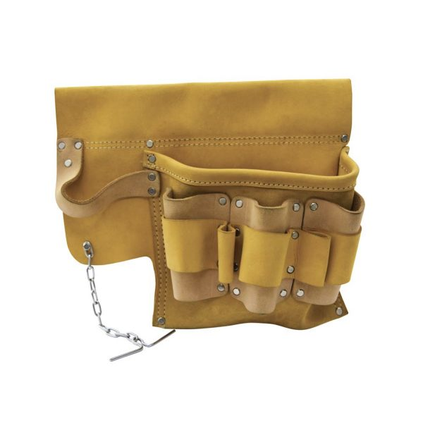 Electricians Tool Pouch in Top Grain Leather