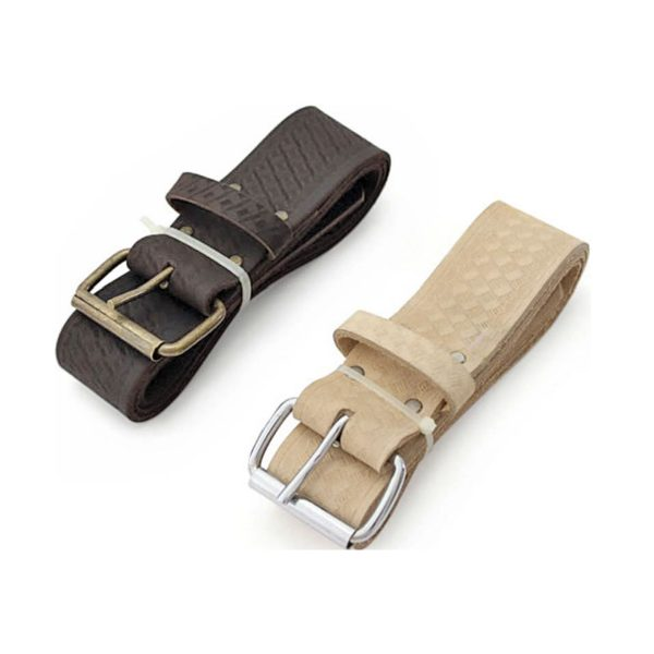 2 Inch Leather Embossed Belt