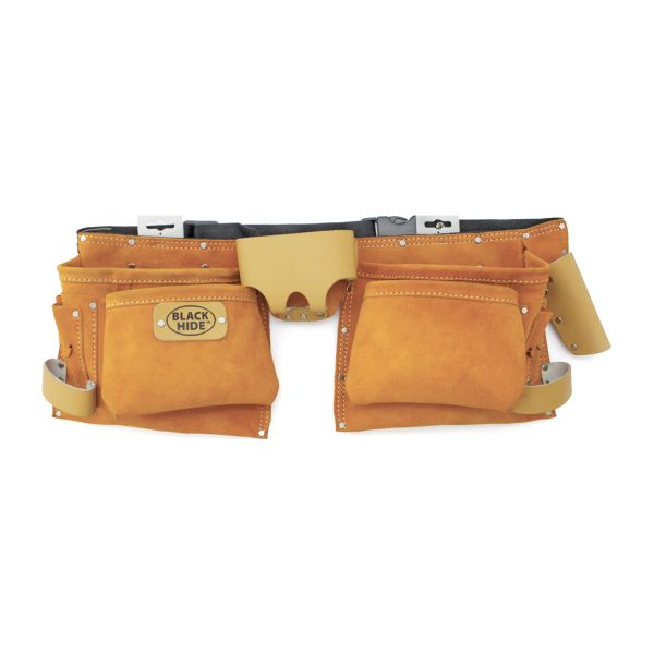 11 Pocket Split Leather Tool Pouch