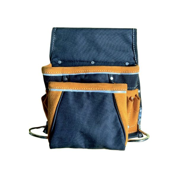 Nylon & Leather Tool Pouch